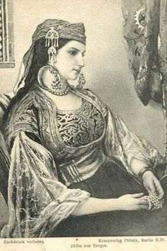 Moroccan Jewish woman from Tanger (Pharyah)