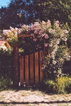Garden Wood Gate