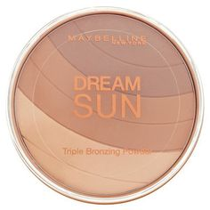Pin for Later: Fake It Till the Sun Makes It With These Beautiful Bronzers Maybelline Dream Sun Bronzing Powder Brunette Maybelline Dream Sun Bronzing Powder Brunette (£6)