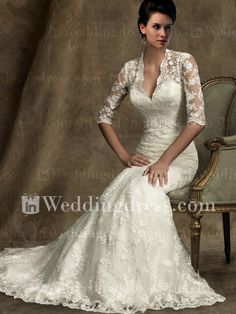 lovely lace wedding gown.... Thought of you Lisa McNeill