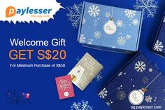 Welcome Gift – Get S$20 For Minimum Purchase of S$50. #Althea #Coupon #Paylesser  Why pay more?