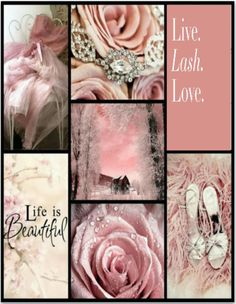 Life is Beautiful as long as there is pink in the world collage quotes Love Collage, Color Collage, Beautiful Collage, Collage Maker, Life Is Beautiful, Mood Colors, Colours, Collages, Everything Pink