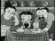 """1932 Betty Boop cartoon featuring the fabulous Cab Calloway and orchestra performing """"Minnie the Moocher"""""""