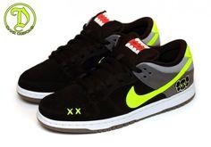 huge selection of fdac7 7a9ef Nike SB Dunk Low KAWS Tribute Custom Exclusive Sneakers, Nike Sb Dunks, Nike  Kicks