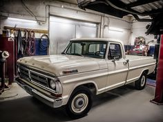 Restoration complete on the 1972 Ford F100 Classic Pickup Truck