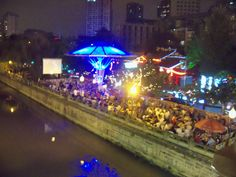 One of the many places to drink/dance in Chengdu.