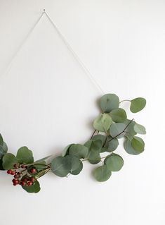 an easy Christmas wreath to make diy