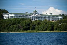 A view from the Straits by Grand Hotel - Mackinac Island, via Flickr