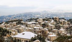 لبنان , ضهور_الشوير, المتن الشمالي - Dhour El Choueir, Lebanon  The Same View, at day and night By Ramzi Maalouf