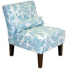 Dickinson Canary Dise Slipper Chair