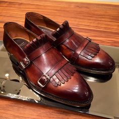Sprezzatura-Eleganza | toboxshoes: Interesting kilties-monks from...