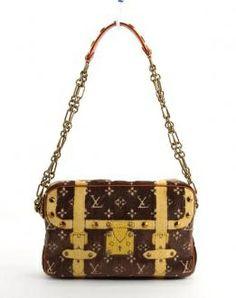 Louis Vuitton Ltd Ed Trompe Loeil Trocadero Shoulder Bag