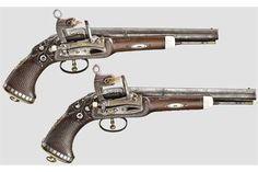Pistola de pany Miquelet (tipus otomà) amb acabats d'or, argent  perles. Decorat amb motius imperials Austríacs i sembla feta al segle XX !!! http://www.the-saleroom.com/en-us/auction-catalogues/hermann-historica-ohg/catalogue-id-srher10007/lot-c5f69b49-0ac6-4757-80d2-a47b00f6d6d0