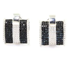 SUPERSHINE 92.5 SILVER EARRINGS JEWELRY STUDDED WITH SPARKLING BLACK & WHITE CZ STONES 01205S SUPER SHINE JEWELRY http://www.amazon.in/dp/B00R17UZ4G/ref=cm_sw_r_pi_dp_IMTwvb117ZF8A