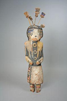 Hopi Katsina (Lenang or Lenya)  Date:     20th century Geography: United States, Arizona