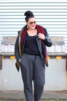 Plus Size Fashion - Anaïs Pénélope | Blog mode ronde, grande taille, plus-size fashion blog, fatshion.: Jogpant