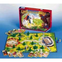 I LOVED this game when I was a kid. Enchanted Forrest.