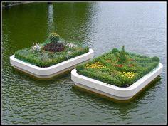Ilona Németh: Floating Gardens / Úszó Kertek, City Park, Budapest, Hungary