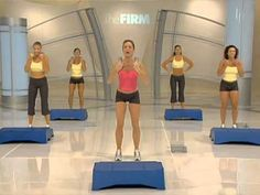 Firm Master Instructor Pam Cauthen Meriwether is back to help you battle the bulge and firm up your lower body! This high-energy workout will work those buns. Fit Board Workouts, Fun Workouts, At Home Workouts, Morning Workouts, The Firm Workout, Step Workout, Fitness Goals, Fitness Motivation, Post Workout Drink
