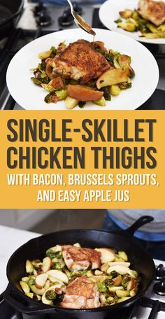 A one-skillet chicken and veggie dish that takes less than 30 minutes. | 9 Easy…