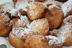 Banana fritters - one of my favourite desserts. I love it with coconut or rum & raisin icecream!