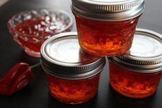 Habañero Pepper Jelly « My Pantry Shelf
