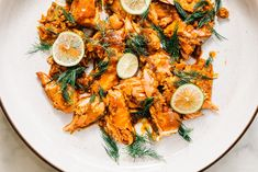 This harissa salmon is dead easy and dependable, perfect both as an impressive main for guests or a luxe low-effort weeknight dinner Salmon Recipes, Seafood Recipes, Asian Recipes, New Recipes, Ethnic Recipes, Asian Foods, Cheese Recipes, Lunches And Dinners, Meals