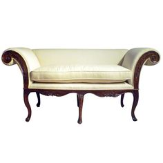 Italian Rococo Walnut Settee | From a unique collection of antique and modern settees at https://www.1stdibs.com/furniture/seating/settees/