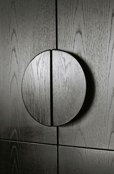 Round Timber Handle Detail