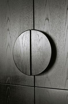 Round Timber Handle Detail