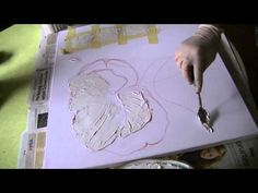 Mohnblüte malen lernen Teil1     Poppies acrylic  painting  demo   part 1 | zeichnen lernen