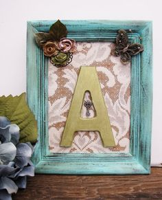 Letter+A+Nursery+Art+Baby+Girl+Nursery+Mint+by+SeaLoveAndSalt,+$48.00