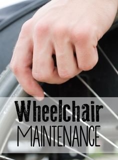 Another person wrote: As someone who uses a wheelchair everyday it is important that my wheelchair stays functional at all times. Wheelchairs are not cheap to replace and it only takes a few minutes to prevent and spot problems before you're on your way out the door. http://blog.easystand.com/2014/08/wheelchair-maintenance/