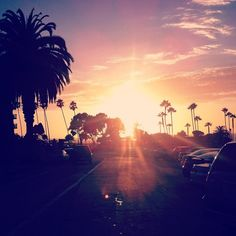 San Diego Sunset California Beach
