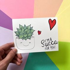 Excited to share the latest addition to my shop: Love Greeting Card - valentines day cards for husband cards for wife cards for boyfriend succulent gifts plant gifts house plants Roses Valentine, Funny Valentine, Valentine Greeting Cards, Valentines Diy, Cute Valentine Sayings, Cute Boyfriend Gifts, Valentines Gifts For Boyfriend, Boyfriend Card, Diy Cards For Boyfriend