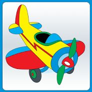 Toys, Toys And More Toys: Clip Art of a Toy Airplane Cartoon Airplane, Airplane Toys, Airplanes, Art Wall Kids, Art For Kids, Learn To Sketch, Clip Art, Cute Clipart, Baby Decor