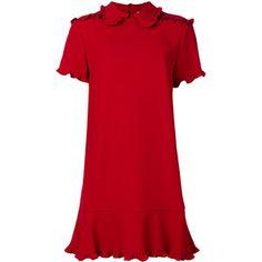 @YJ   Red Valentino structured dress