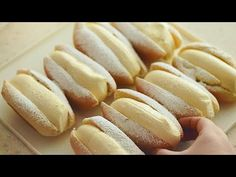 How To Make Custard, Hot Dog Buns, Bread, Baking, Food, Youtube, Meal, Patisserie, Brot