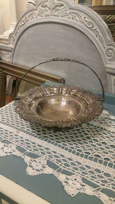 Antique Bride's Basket