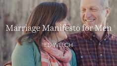 """I take this from Paul's discussion on marriage in Ephesians, which begins, """"Husbands, love your wives, as Christ loved the church""""…"""