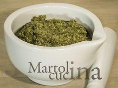 PESTO DI BASILICO #pesto #basilico #vegetariana #sugo #salsa #condimento #estate