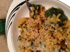 Spinach Risotto for Meatless Monday