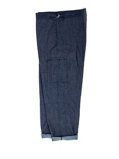 Judo Pant Palmers Indigo Light OSMT49B-PAL01INL | The Indigo Edit - New In - Trousers - Clothing - Judo Pants - Oliver Spencer