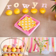 {Rowyn's 1st Birthday Party :: Pink Lemonade Theme}Mozi Photography - Sweet Marie Designs