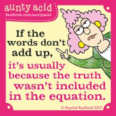 Aunty Acid for 7/15/2017