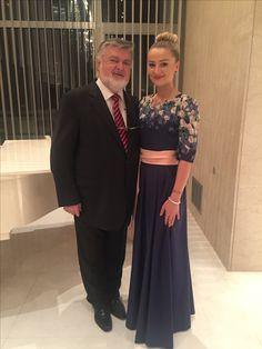 Maestro Peter Dvorský and soprano Tatiana Hajzusova