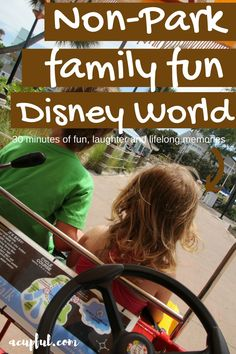 There is more to do at WDW than the theme parks. Surrey bike rentals was the…