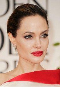 Make up Angelina Jolie Angelina Jolie Fotos, Angelina Jolie Makeup, Angelina Joile, Pele Natural, Natural Eyes, Natural Makeup, Natural Beauty, Mac Ruby Woo, Red Carpet Makeup
