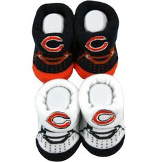Chicago Bears Infant Booties
