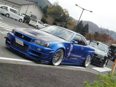 Nissan Skyline GTR R-34
